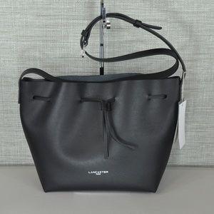 NWT Lancaster Black Shoulder/Crossbody Bag